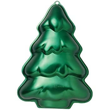Amazon Com Wilton 2105 0070 Christmas Tree Cake Pan