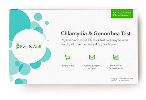 - EverlyWell - at-Home Chlamydia and Gonorrhea Test - Discreetly Test for Chlamydia and Gonorrhea (Not Available in NY, NJ, RI, MD)