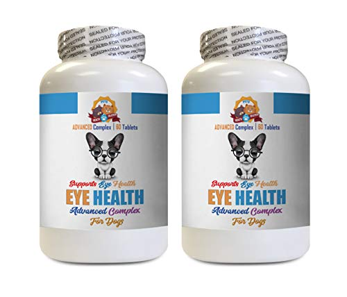 Dog Eye Health - Dog Eye Health Solution - Supports Vision - Advanced Complex - Vitamin b12 for Dogs - 120 Tablets (2 Bottles)