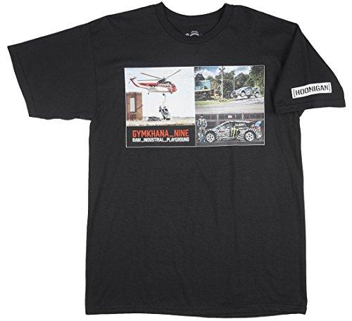 Hoonigan T-Shirt Gymkana 9 Photo Schwarz