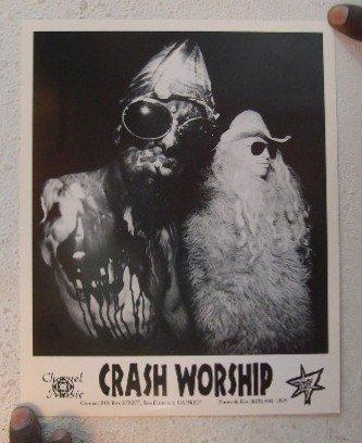 (Crash Worship Press Kit Photo Adoracie'³n De Rotura Violenta ADRV)