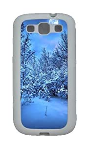 2014 New Year's Eve Custom TPU Rubber Soft Case and Cover for Samsung Galaxy S3 /S III White