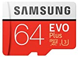 Samsung 64GB Evo Plus Class 10 Micro SDHC with Adapter (MB-MC64GA/AM)