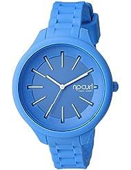 Rip Curl Womens Horizon Quartz Plastic and Silicone Sport Watch, Color:Blue (Model: A2803G-ABL)