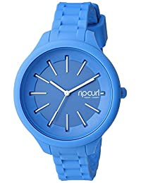 Rip Curl Women's 'Horizon' Quartz Plastic and Silicone Sport Watch, Color:Blue (Model: A2803G-ABL)