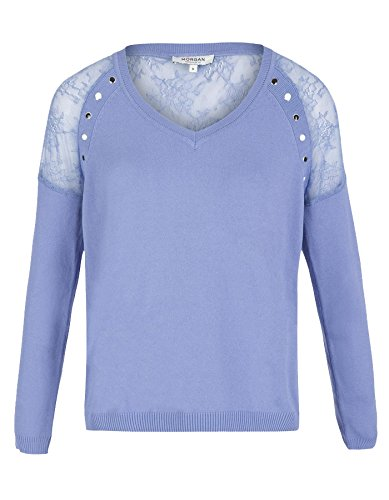 de Light Shoulder Toi Lace Morgan by Blue Jersey 6dpq7R