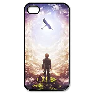 YUAHS(TM) Custom Phone Case for Iphone 4,4S with How to Train Your Dragon YAS375227