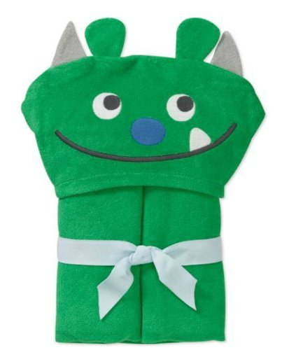 Child of Mine Carter's Baby Hooded Bath Towel - Monster