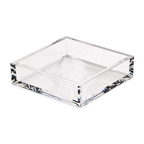 Caspari Acrylic Luncheon Napkin Holder, Clear, 1