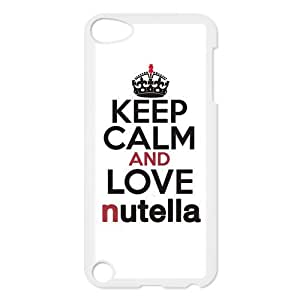 Keep Calm And Eat Nutella Case Cover Protector for ipod touch 5