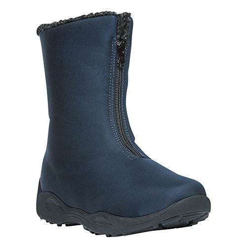 Navy Boot Mid Zip Madison Women's Propet qISTXw