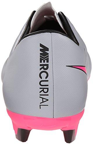 Nike Herren Mercurial Victory IV FG Fußballschuh Wolfsgrau, Hyper Pink, Schwarz