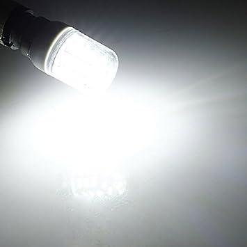 MASUNN E14 3.5 w blanco/cálido blanco 5730 SMD 27 LED maíz bombilla de luz 24V-Blanco: Amazon.es: Hogar