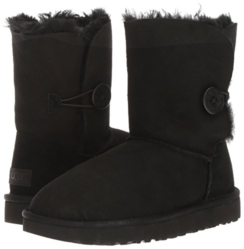 UGG Women's Bailey Button II Winter Boot, Black, 9 B US by UGG (Image #6)