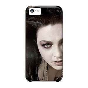 JohnPrimeauMaurice Iphone 5c Shock-Absorbing Hard Phone Cases Provide Private Custom Beautiful Evanescence Band Series [OIY11055AifB]