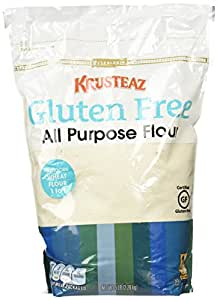 Krusteaz Certified Gluten Free All Purpose Flour – Replaces Wheat Flour: Cup For Cup – In A Resealable 5 Lb. Bag