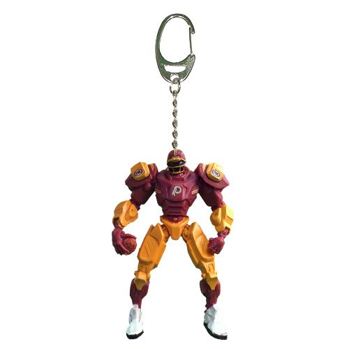 (NFL Washington Redskins Fox Sports Team Robot Key Chain, 3-inches)