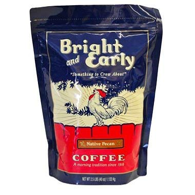 Bright and Early Ground Native Pecan Coffee (2.5 lb.)ES