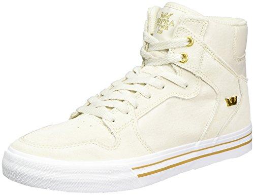 Supra Herren Vaider Sneaker Weiß (Off White-white)