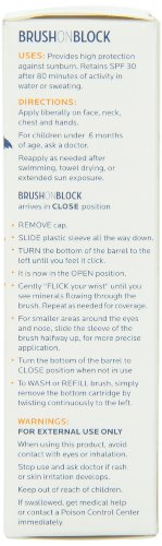Brush On Block BOB Broad Spectrum SPF 30 Mineral Powder Sunscreen by SPF Ventures