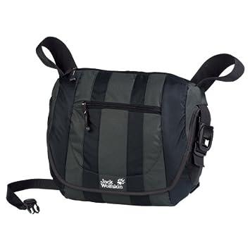 dfd6ad4275 Jack Wolfskin Jungle Bag 15 - Kuriertasche , 6000 black: Amazon.de ...