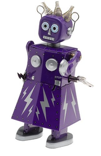 Amazon Com Electra Robot Girl Wind Up Toys Games