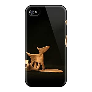 Excellent Iphone 4/4s Cases Tpu Covers Back Skin Protector 3d Friday Mood