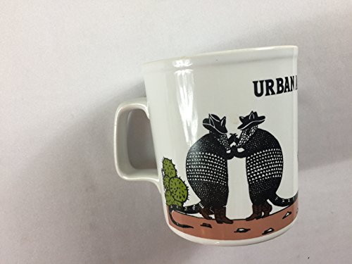 (Urban Armadillo Coffee Mug Vintage 1980 Cup Kiln Craft England Made Funny Gift Bar)