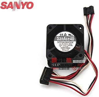 For Sanyo 9PF0424H304 Original A90L-0001-0580# A DC24V 4cm fan original plug