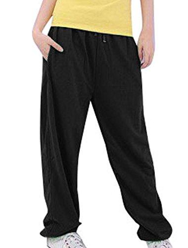 Taille Hop Sourcingmap Pantalons Cordon Hip Femme Décontractés Zqx0wt0FP