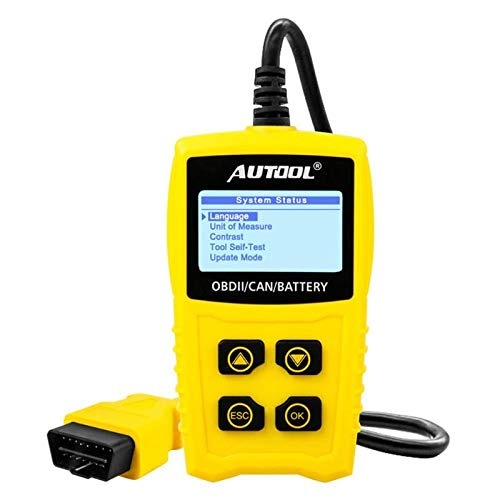 Carvicto - AUTOOL Car Repair Tool CS330 OBD2 Scanner Car Diagnostic Tool OBDII Auto Fault Code Reader Accessories