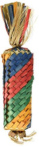 Toy Parrot Bird Pinata - Planet Pleasures Rainbow Piñata Diagonal Toy, Large