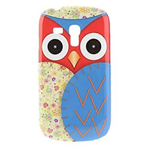 Blue Owl Pattern Hard Case for Samsung Galaxy S3 Mini I8190
