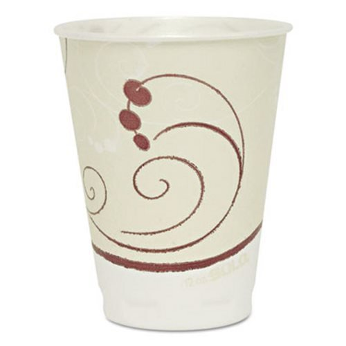 SOLO Cup Company Trophy Plus Dual Temperature Insulated Cups in Symphony Design by SOLO Cup Company
