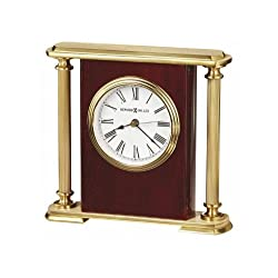 Howard Miller 645-104 Rosewood Encore Bracket Table Clock by [Kitchen] # 645104