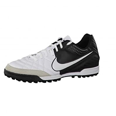 Nike Tiempo Natural IV Ltr TF - UK14 Black White  Amazon.co.uk ... 5502133a9