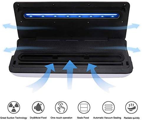 YB-DD Passez l'aspirateur sur Scellant Machine One-Touch Automatique Machine d'emballage sous Vide pour l'alimentation Stockage et Conservation avec Sec et Humide Modes