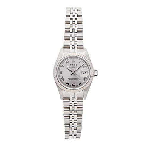 - Rolex Datejust Mechanical (Automatic) Rhodium Dial Womens Watch 79174 (Certified Pre-Owned)