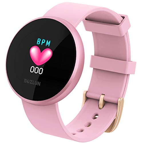 Mikkar Updated 2019 Version Activity Tracker Watch, Female Heart Rate Color Screen Physiological Period Reminds Fashion Smart Watch
