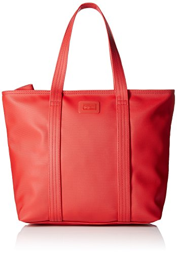 Bag Women's Shopping Classic Medium LACOSTE Scarlet Flame Id4qt