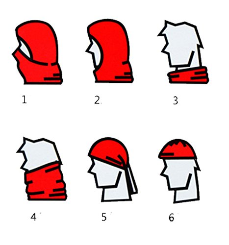 DD.UP Winter Warm Cover Anti-dust Windproof Cap Adjustable Ski Mask Hat (Blue)