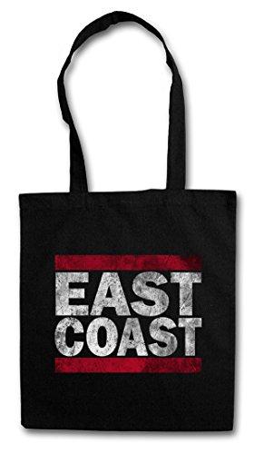EAST COAST Hipster Shopping Cotton Bag Borse riutilizzabili per la spesa