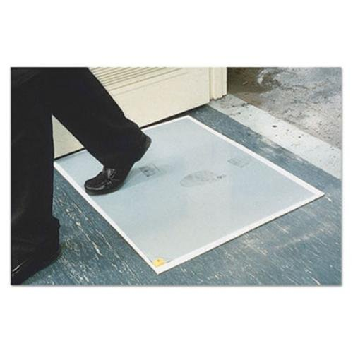 N-Clean Dirt Grabber Mat 60-Sheet Refill Pad, 30 x 24, Gray (Adhesive Mat Refills)