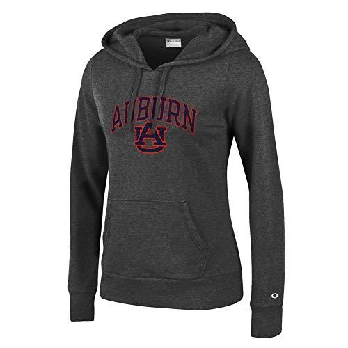 Tigers Womens Hoodie Sweatshirt - Elite Fan Shop Auburn Tigers Womens Hoodie Sweatshirt Arch Charcoal - L