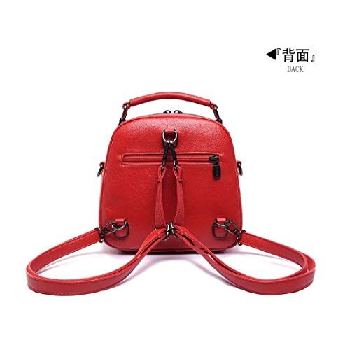 Women's Multi BB red Backpack Handbag Bag LIUXINDA Bag Single Wallet Satchel Bag Bag Shoulder Shoulder Long Single pnTU4wqwx