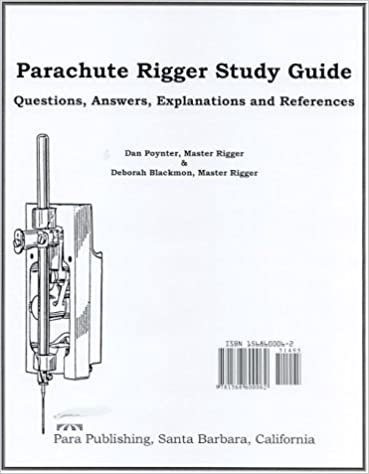Amazon com: Parachute Rigger Study Guide: Questions, Answers