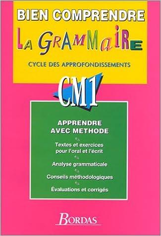 Lire en ligne BIEN COMP GRAMMAIRE CM1    (Ancienne Edition) pdf epub