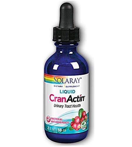 Solaray - Cranactin Syrup, 2 fl oz liquid