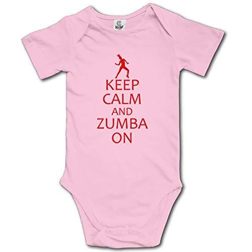 d Zumba On Custom Unisex Baby's Toddler Cotton Short Sleeve Jumpsuit ()