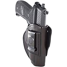 1791 Gunleather 4-WAY SIG P226 & P229 Holster - OWB and IWB CCW Holster - Right Handed Leather Gun Holster - Fits Sig Sauer P226, Sig P229, P220, P320c, P239 (4 WAY SIZE 5)